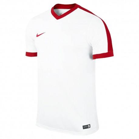 Футболка игровая Nike Striker IV 725892-101 белая с красным