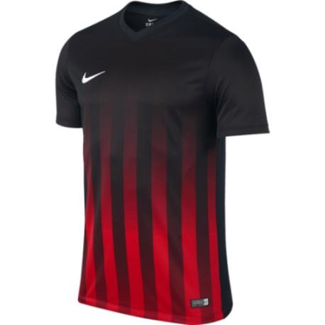 Футболка игровая Nike Striped Division II 725893-012 красно-черная