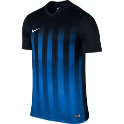 Футболка игровая Nike Striped Division II 725893-011 черно-синяя