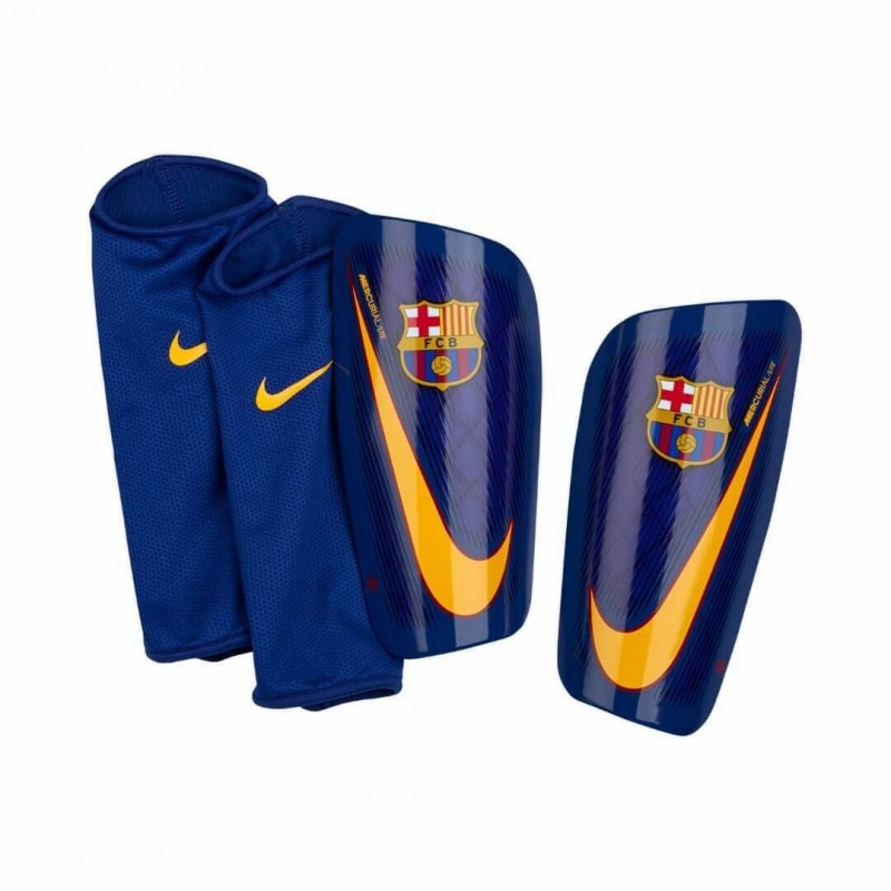 Футбольные щитки Nike FC Barcelona Mercurial Lite SP2112-422. Loading zoom 58f113eff5077