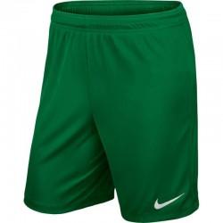 Шорты игровые Nike Park II Knit 725887-302 зеленые