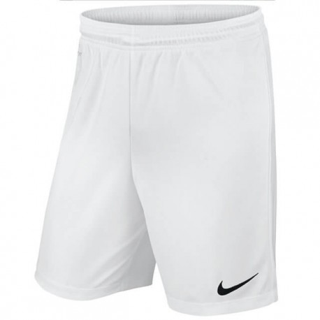 Шорты игровые Nike Park II Knit 725887-100 белые с черным