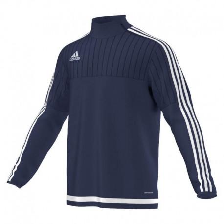 Топ тренировочный ADIDAS TIRO 15 Training Top S22337 синий с белым