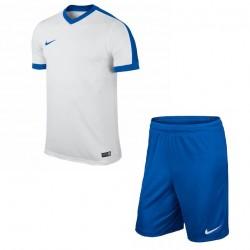 Футбольная форма NIKE бело-синяя 725892-100+725903-463