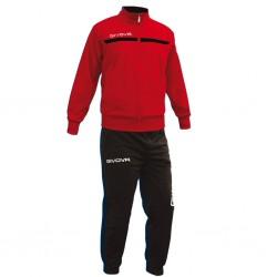 Спортивный костюм Tuta Givova One TT012.1210 красно-черный