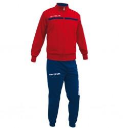 Спортивный костюм Tuta Givova One TT012.1204 красно-синий