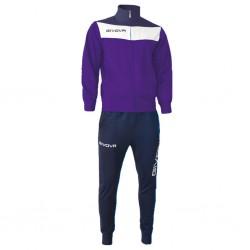 Спортивный костюм GIVOVA TUTA CAMPO TR024.1404 фиолетовый