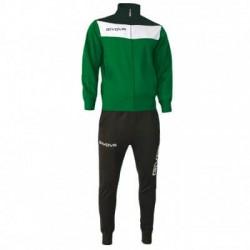 Спортивный костюм GIVOVA TUTA CAMPO TR024.1310 зеленый