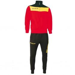 Спортивный костюм GIVOVA TUTA CAMPO TR024.1207 красный