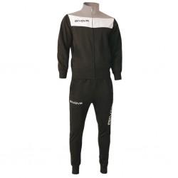 Спортивный костюм GIVOVA TUTA CAMPO TR024.1027 черный