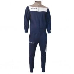 Спортивный костюм GIVOVA TUTA CAMPO TR024.0427 темно-синий