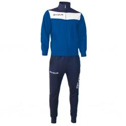 Спортивный костюм GIVOVA TUTA CAMPO TR024.0204 синий