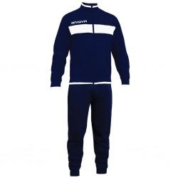 Спортивный костюм GIVOVA TUTA DROPS LF11.0404 синий