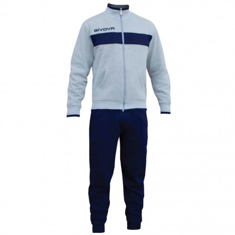 Спортивный костюм GIVOVA TUTA DROPS LF11.0904 бело-синий
