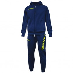 Спортивный костюм GIVOVA TUTA KING LF11.0419 синий