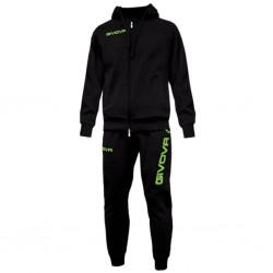 Спортивный костюм GIVOVA TUTA KING LF11.1034 черный