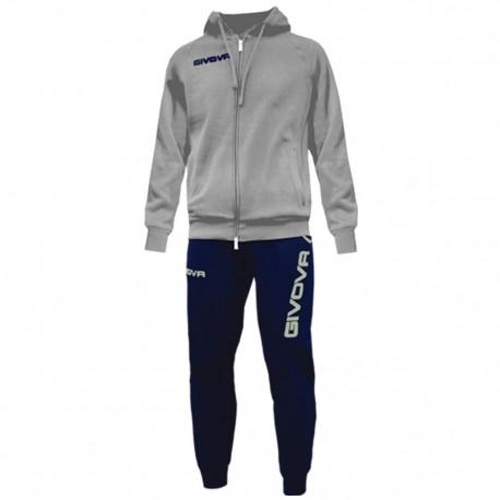 Спортивный костюм GIVOVA TUTA KING LF21.0904 серо-синий