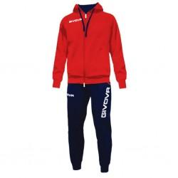 Спортивный костюм GIVOVA TUTA KING LF21.1204 красно-синий