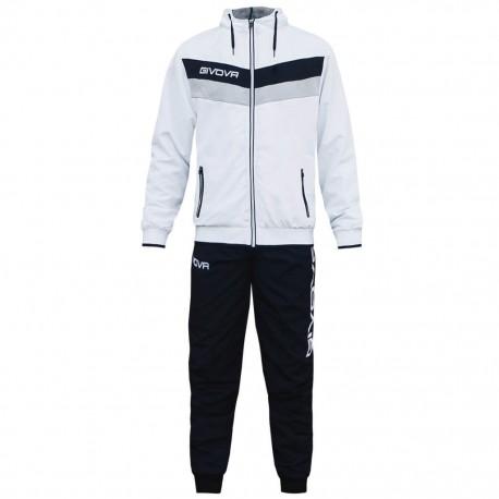 Спортивный костюм GIVOVA TUTA MATADOR TR020.0310 бело-черный