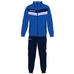 Спортивный костюм GIVOVA TUTA MATADOR TR020.0204 синий