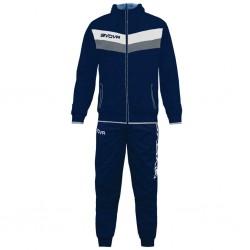 Спортивный костюм GIVOVA TUTA MATADOR TR020.0404 темно-синий