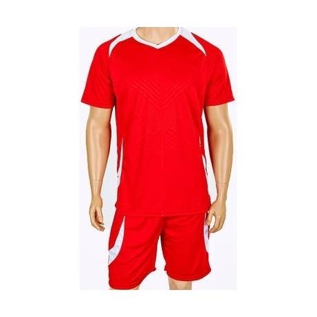 Детская футбольная форма красная CO-2016B-R