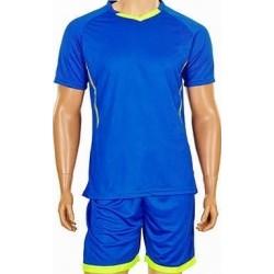 Детская футбольная форма синяя CO-7055B-BL
