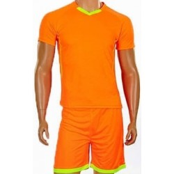 Детская футбольная форма оранжевая CO-7055B-OR