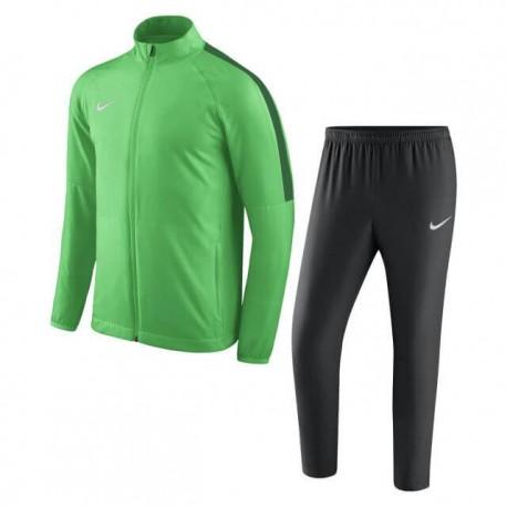 Спортивный костюм NIKE DRY ACDMY18 TRK SUIT W893709-361 зеленый