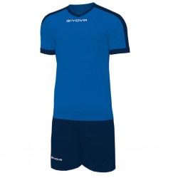 Футбольная форма GIVOVA KITC59.0204 сине-т синяя