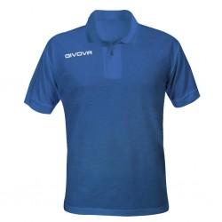 Поло GIVOVA Polo Summer MA005.0002 синяя