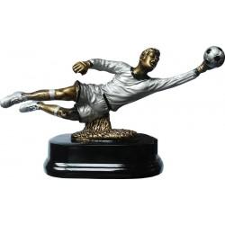 Статуэтка наградная футбольного вратаря керамическая