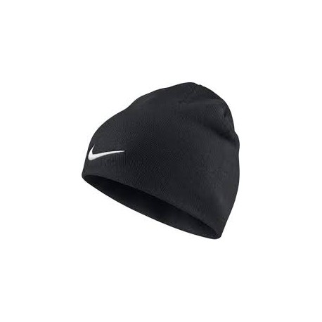 ШАПКА NIKE TEAM PERFORMANCE BEANIE 646406-010 (чёрная)