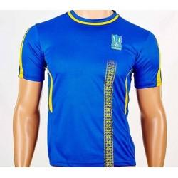 Детская футбольная форма Сборной Украины CO-3900-UKR-18B синяя
