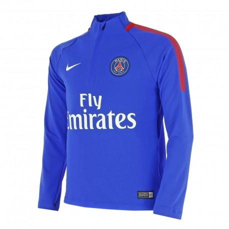 Детский тренировочный джемпер Nike PSG Y NK DRY SQD DRIL TOP 854679-440