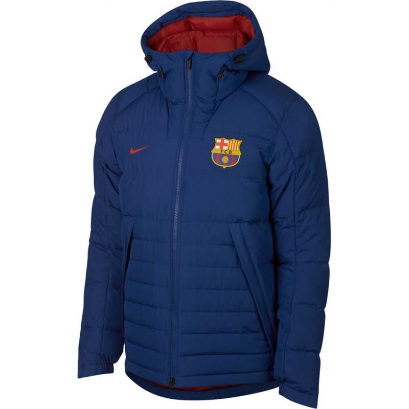 f3b3e64d Куртка Зимняя Nike FC Barcelona 2018 AH7322-455. Loading zoom