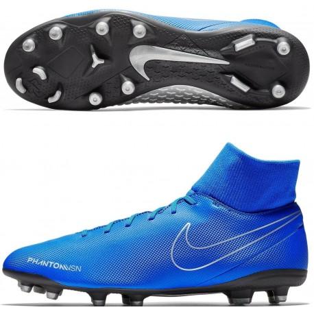 Футбольные бутсы Nike PHANTOM VSN CLUB DF FG/MG AJ6959-400