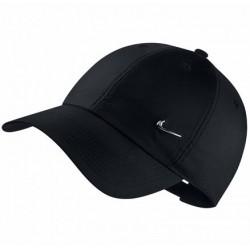 Кепка Nike Swoosh Metal H86 Cap черная 943092-010