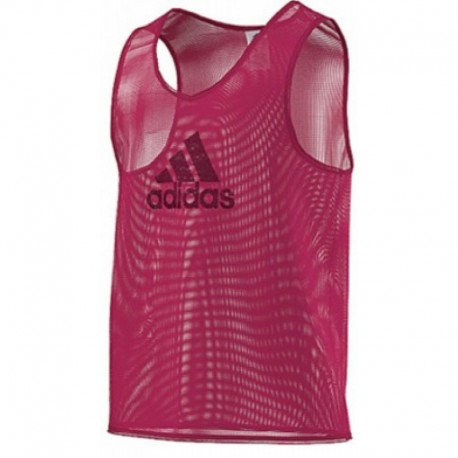 Манишка красная Adidas TRAINING BIB F82134
