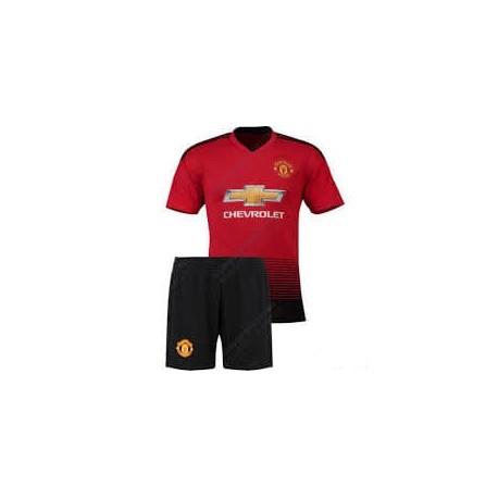 Детская футбольная форма MANCHESTER UNITED домашняя 18/19 CO-8028