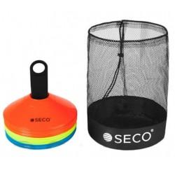 Набор тренировочных фишек SECO 3 цвета с подставкой и сумкой
