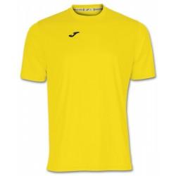 футболка игровая Joma Combi 100052.900 желтая