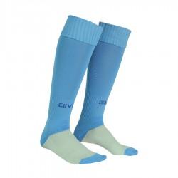 гетры GIVOVA Calza Calcio C001.0005 голубые