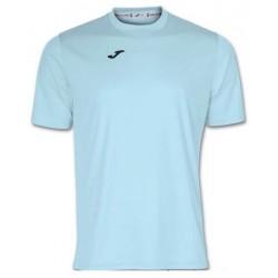 футболка игровая Joma Combi 100052.350 голубая