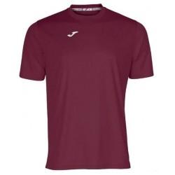 футболка игровая Joma Combi 100052.650 бордовая