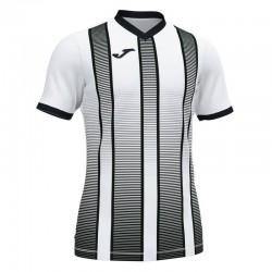 Футболка игровая Joma TIGER II 101464.201 бело-черная