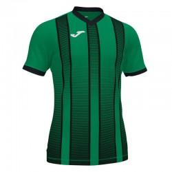 Футболка игровая Joma TIGER II 101464.451 зелено-черная