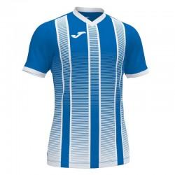 Футболка игровая Joma TIGER II 101464.702 сине-белая