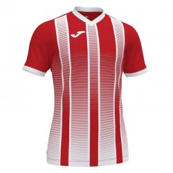 Футболка игровая Joma TIGER II 101464.602 красно-белая