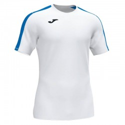 Футболка игровая Joma ACADEMY III 101656.207 бело-синяя